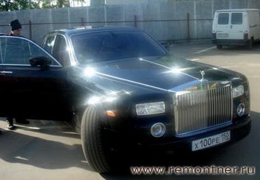 Наш Rolls-Royce Phantom для сюрприза Радости для Дамъ