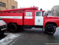 Пожарный автомобиль для сценария