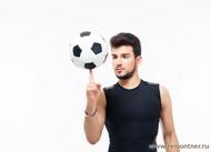 Футбольный фристайлер. Игра на пальце.