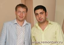 Руководители агентства Дежа Вю, - Абушаев Юрий и Гарибян Барсам