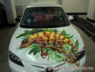 Декорироанный автомобиль на день рождения